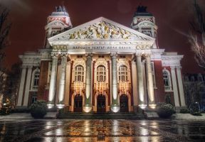 National Theatre Sofia by Pipera