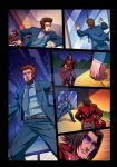 Night Wolf Comic Book Issue #2 Page 13 Colors by RAM-Horn