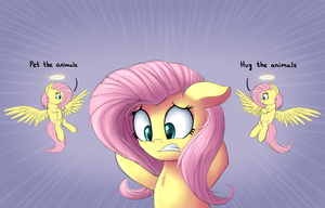 FlutterDilemma [ATG 2016 D20] by VanillaGhosties