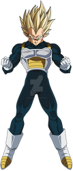 Vegeta Super Saiyan by crismarshall