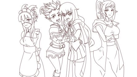 Wizard101 Fanfic cover Updated Sketch by Marius15 by xXSniperKingXx