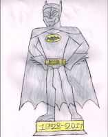 In Memory of a Caped Crusader by LawfulStudios9646