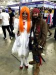 Pennywise And Captain  Jack by JUMBOLA