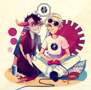Request: Dave/Tavros by Timsel-kun