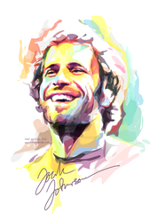 Jack-Johnson-watercolor-by-toni-agustian-(A-sizes) by toniagustian