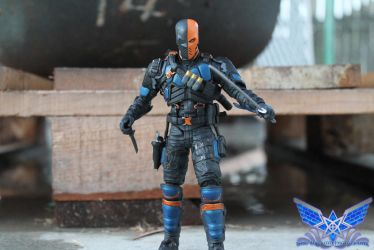 Deathstroke by BoboMagroto