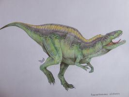 Acrocanthosaurus atokensis by T-PEKC