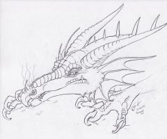 Smaug the Magnificent by ShadowToxin