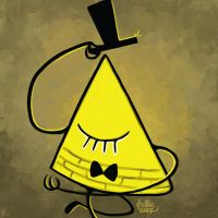 Daily Sketches Bill Cipher by fedde