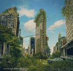 Post Apocalyptic Scene by annewipf