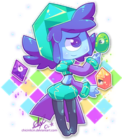 Shiny Crystal Things by chicinlicin