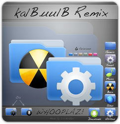 kalB.uulB Remix 4 Win Linux by LordKokkei