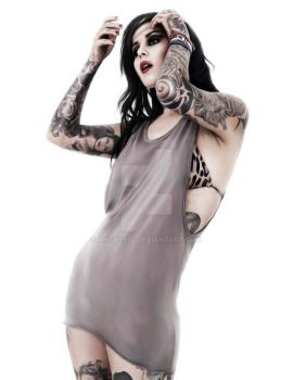 Kat Von D by AngryPIG