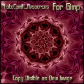 gimp-Copy Visible as new image by photocomix-resources