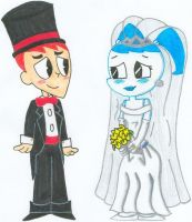 Jenny 'n Brad Get Married 2.0 by nintendomaximus