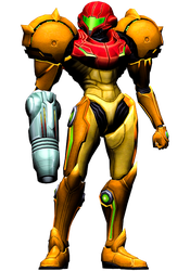 Samus Aran - Metroid Prime Comic Pose Render Pack by Varia31