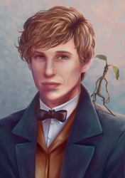 Newt and Pickett by Blunell