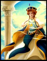 Midlah The Queen Of Anemo by eliort