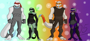 [TMNT OCs] The dragon-lizards [BIOs] [Backstory] by Foziz105
