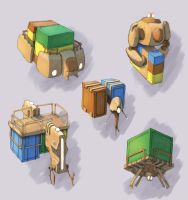 Cargo Lifter Concepts by Samize