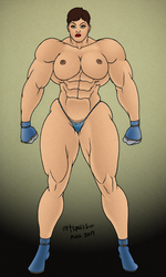 Topless Muscle 1 by MiltonTeruel