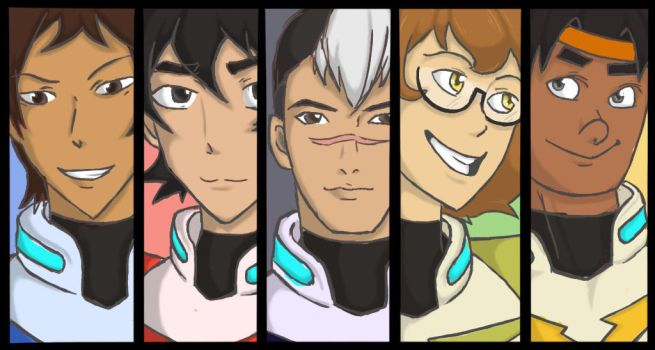 Voltron by Emnel