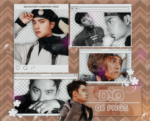 [PNG PACK #852] D.O - EXO (Don't Mess Up My Tempo) by fairyixing