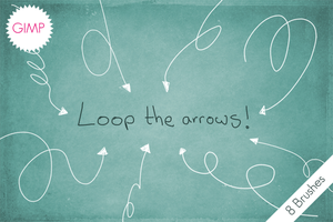 GIMP Loop The Arrows! by byjanam