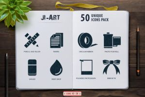 Jumbo Glyph Art Icons Set-5 by jumboicons