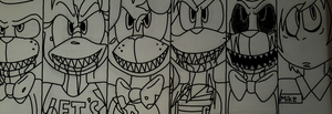 FNAF:The Game of Life Pt 1 by Musicthehedgehog