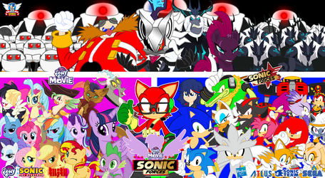 Sonic Forces X MLP Movie : Final Version ! by trungtranhaitrung