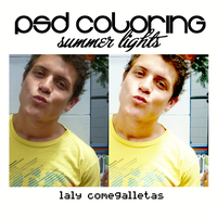 PSD Coloring Summer Lights by Alixitha