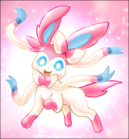 Sparkling Sylveon by MyFantasyZone
