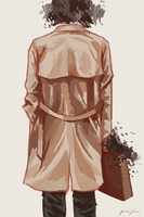 The Man in the Tan Jacket by hvelfa