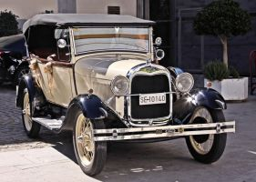 Ford Model A Standard Phaeton front view by UdoChristmann