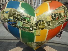 Union Square Heart, San Francisco 4 by discoinferno84