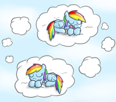 What Dash Dreams About by paper-pony