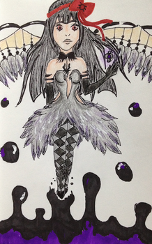 Art Trade: Homura Akuma by Kagome-Koi