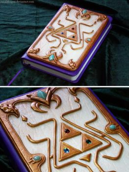 Princess Zelda Themed Journal by JSmallDragon