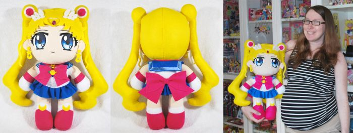 Giant Sailor Moon Crystal Plush by sakkysa
