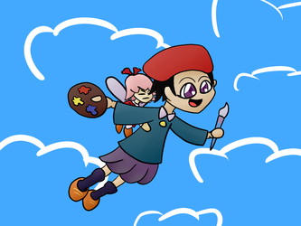 Dream friend Adeleine and Ribbon by ThePIOGamer