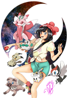 Pokemon Moon by Ruy-D