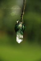 Elven nature pendant by Krinna