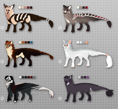 Baby Beans Batch - JBD Adopts - CLOSED by kavlri