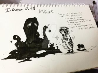 [Inktober 2018] Weak by tinkatiranor