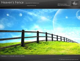 Heaven's Fence Wallpaper by darpan-aero
