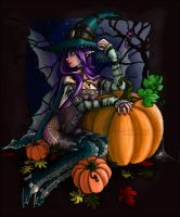 Hallow's Fae colored by TheRoseOfDeath