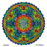 Mandala 25 - Collaboration by Mandala-Jim