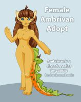 CLOSED DTA Female Ambrivan or AB $5 or 500 points by iLantiis