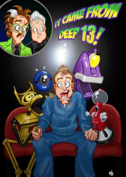 MST3K: It Came From DEEP 13 by Age-Velez